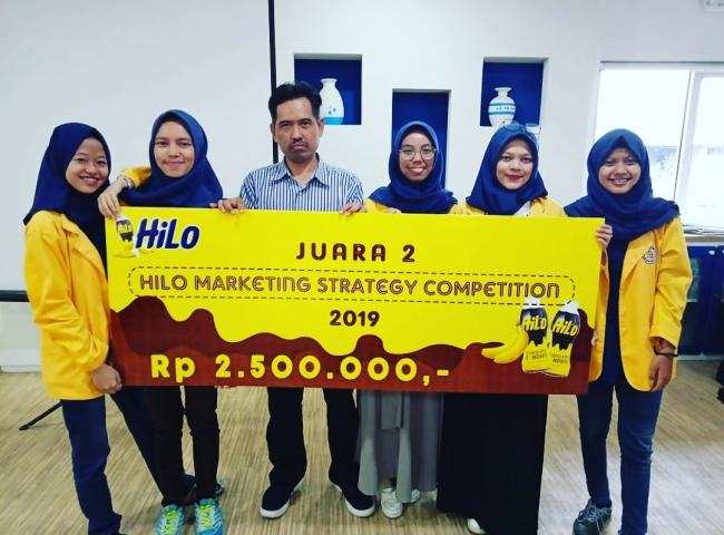 Juara 2 Lomba HILO Marketing Strategy Competition Tahun 2019